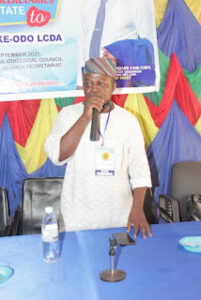 AYODELE AYEYEMI IS THE NEW CHAIRMAN OF CONFERENCE 57 CPS
