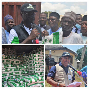 NEMA DG flags off distribution of emergency agricultural inputs for farmers in Niger state
