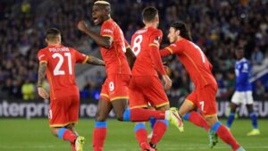 Osimhen rescues a point for Napoli, Lyon roll over Rangers