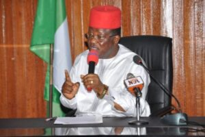 'Please sheath your swords', Governor Umahi appeals to Southern colleagues insisting on VAT collection